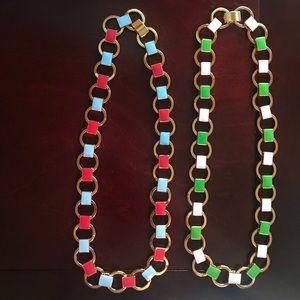 Authentic JCrew enamel jewels!!!